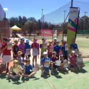 Participants from Orange Ball league