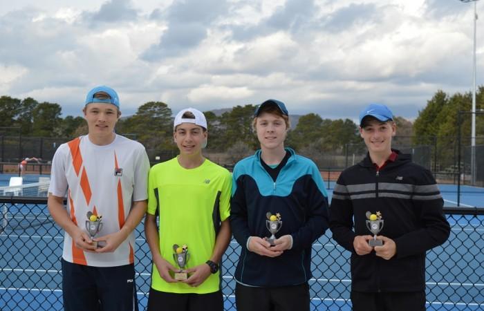 16 Boys Doubles Finalists