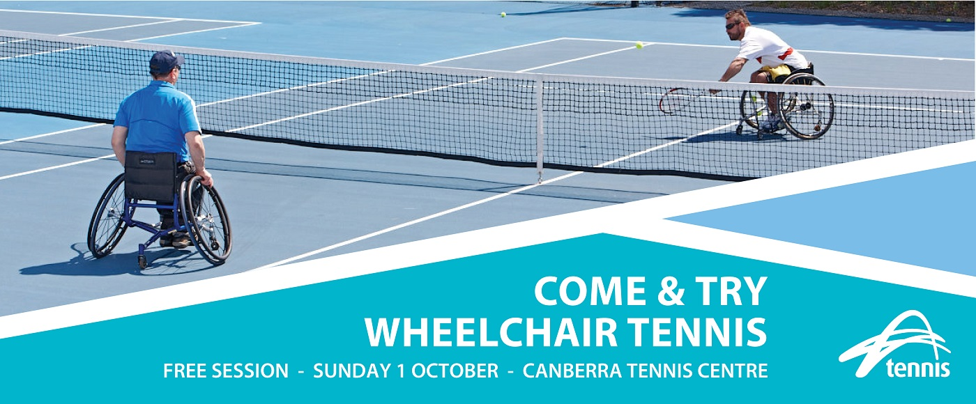 Come and Try Wheelchair Tennis BANNER1400x580