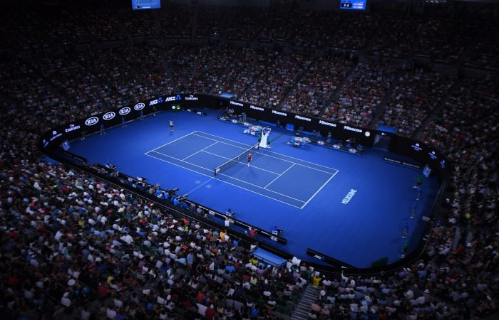 Rod Laver Arena, R1, 16 January 2017.