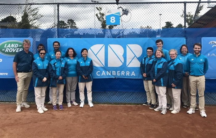 Officials from Canberra Clay 700 x 450