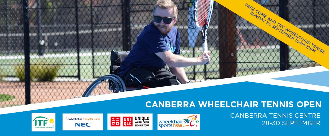 Wheelchair Tennis Open 2018 1400 x 560 Banner