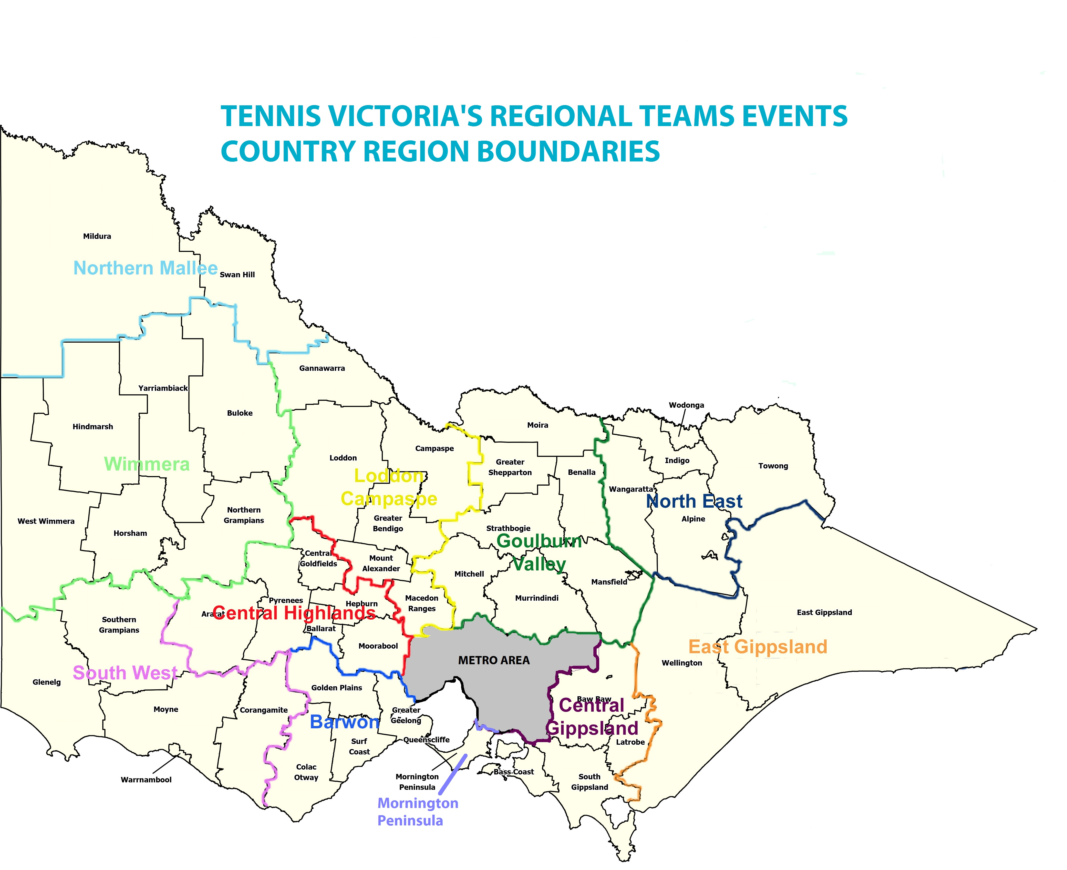 Regional Team Boundaries 2016