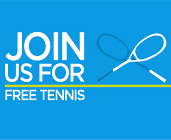 Join us for Free tennis