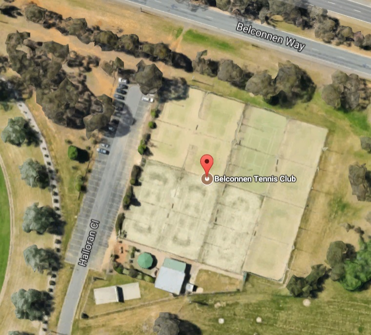 Belconnen Tennis Club - Parking