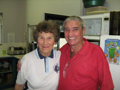 Edna Wendt and Colin Fitzpatrick