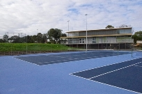 20150630 Clubhouse and courts
