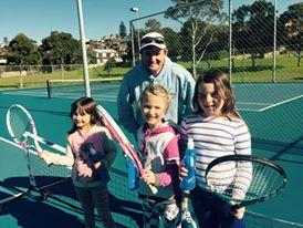 Paul Summerside - Gerringong Tennis Club coach