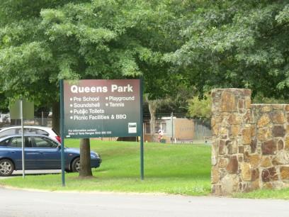 Queens Park Entrance
