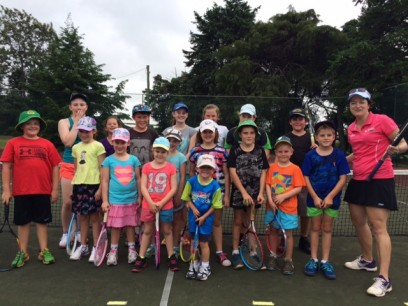 TENNIS GROUP FROM CLINIC