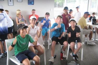 Match Point Tennis Hot Shots Challenge Day