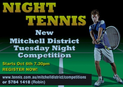 Night Tennis Ad.