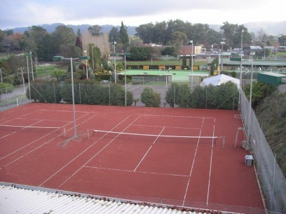 Courts at Monbulk Tennis Club