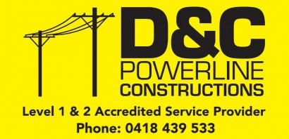 D&C Powerline Constructions - Mudgee District Tennis Club Sponsor