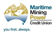 Maritime Mining Power Credit Union - Mudgee Distrct Tennis Club Sponsor