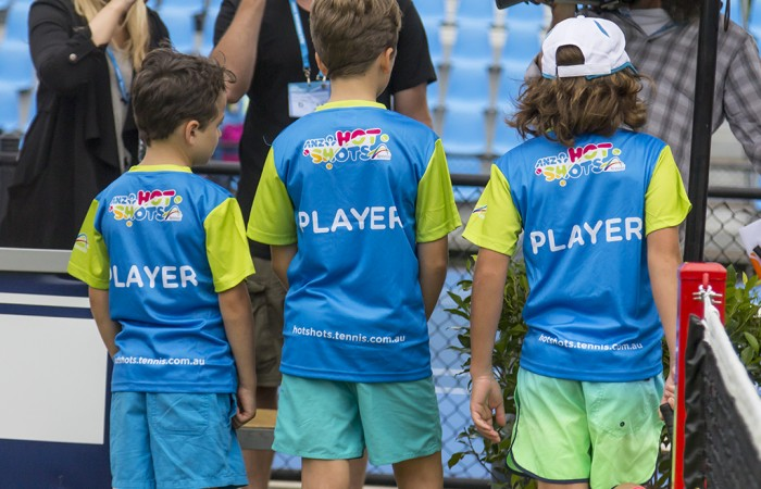 Kids Day @ Apia Sydney International Tennis Tournament. Sydney Australia 12-01-2015