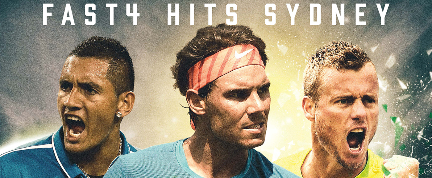 FAST4 Tennis banner
