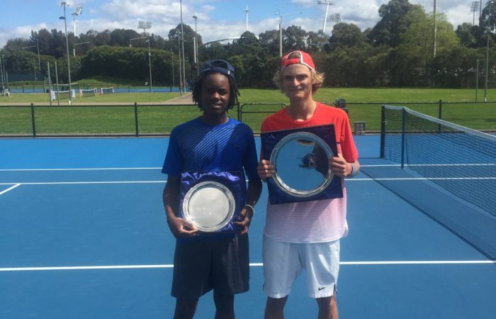 NSW Players Were In Fine Form Last Week Taking Out Three Of The Four Titles On Offer At Sydney ITF Junior Event Olympic Park Tennis Centre