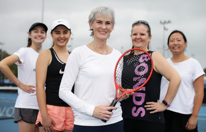 SYDNEY, AUSTRALIA - JANUARY 06: Judy Murray Sheroes during day four of the 2020 ATP Cup Group Stage at Ken Rosewall Arena on January 06, 2020 in Sydney, Australia. (Photo by Matt King/Getty Images)