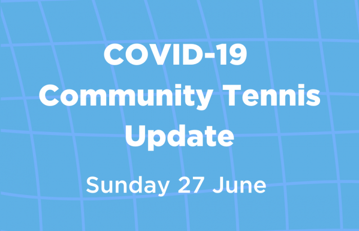 Copy of COVID-19 Community Tennis - eDM banner