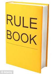 Yellow rule book