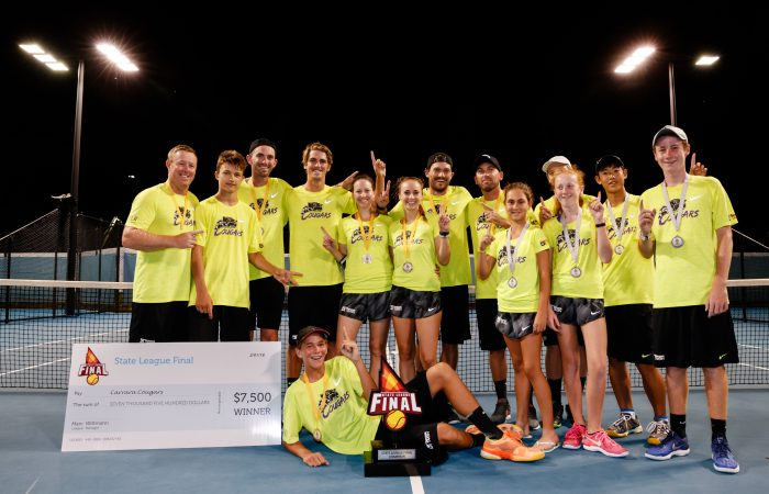 STATE LEAGUE FINAL PRESENTATION   2018 BRISBANE INTERNATIONAL, PAT RAFTER ARENA, BRISBANE TENNIS CENTRE, BRISBANE, QUEENSLAND, AUSTRALIA    © TENNIS PHOTO NETWORK