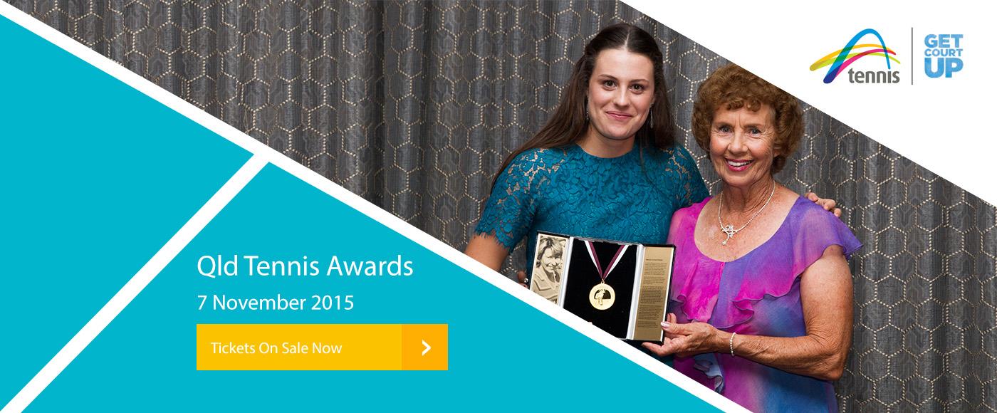 Queensland Tennis Awards tix on sale