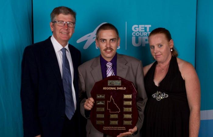Qld Regional Club of the Year Winners Barcaldine Lawn Tennis Club