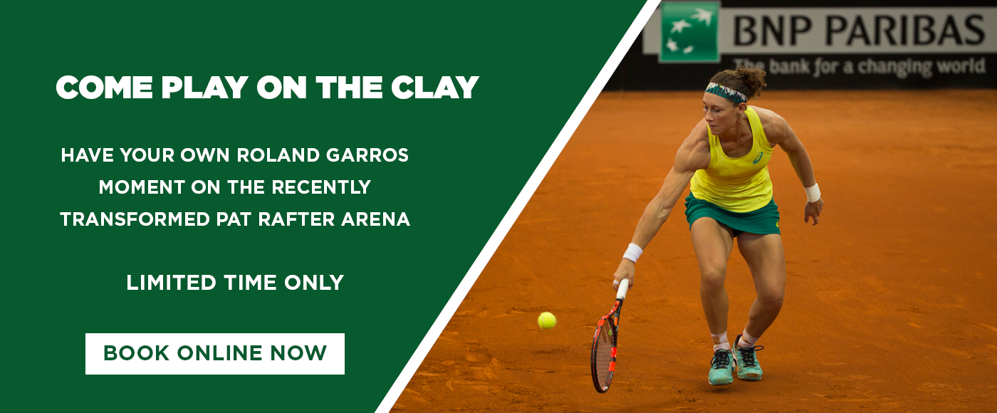 web large - clay court hire