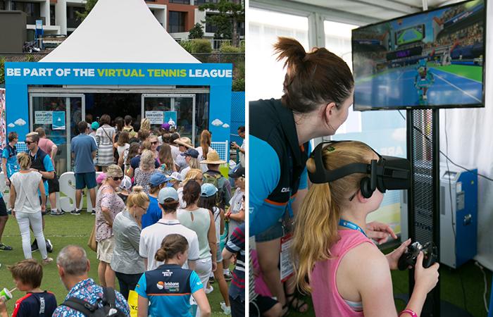 VR tennis at BI 700 x 450