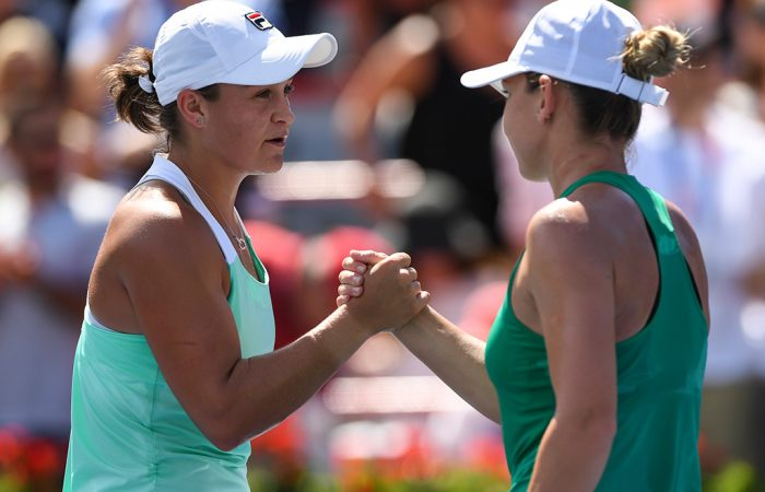Barty-Halep-Coupe-Rogers-semifinals-Montreal-700x450