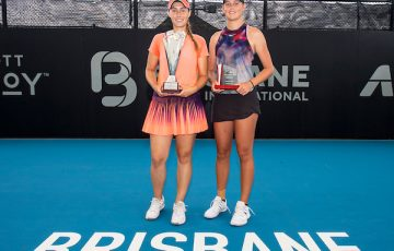 "QUEENSLAND MONEY RACE STATE FINAL - WOMEN""S SINGHLES  2020 BRISBANE INTERNATIONAL, PAT RAFTER ARENA, BRISBANE TENNIS CENTRE, BRISBANE, QUEENSLAND, AUSTRALIA    © TENNIS PHOTO NETWORK"