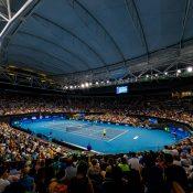 AMBIANCE  ATP CUP,  PAT RAFTER ARENA, QUEENSLAND TENNIS CENTRE, BRISBANE, QUEENSLAND, AUSTRALIA.