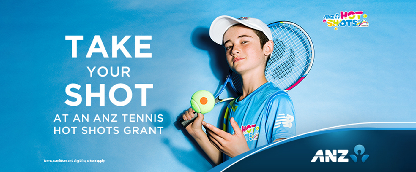ANZ Community Tennis Grants 1400x580