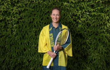 Samantha Stosur (AUS) has been selected for the Australian team at the Tokyo 2020 Olympic Games. Photographed ahead of The Championships 2021. Held at The All England Lawn Tennis Club, Wimbledon. Day -3 Friday 25/06/2021. Credit: AELTC/Ben Solomon