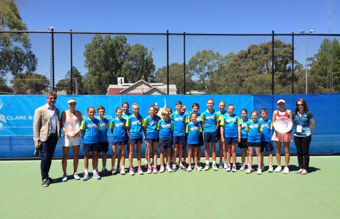 2015 Clare Valley Tennis International - Presentations