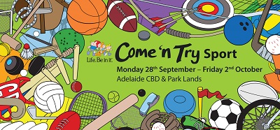 Life Be In It - Come 'n Try Tennis