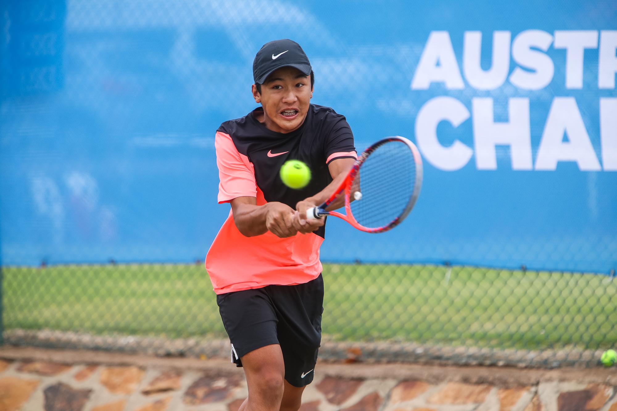 Edward Vo Wins Second Australian Grasscourt Championship 17 April 2018 Tennis Sa