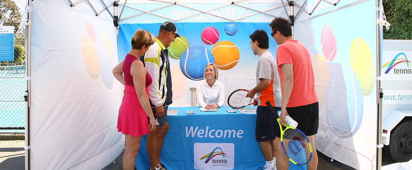 Tennis Australia Commission Shoot