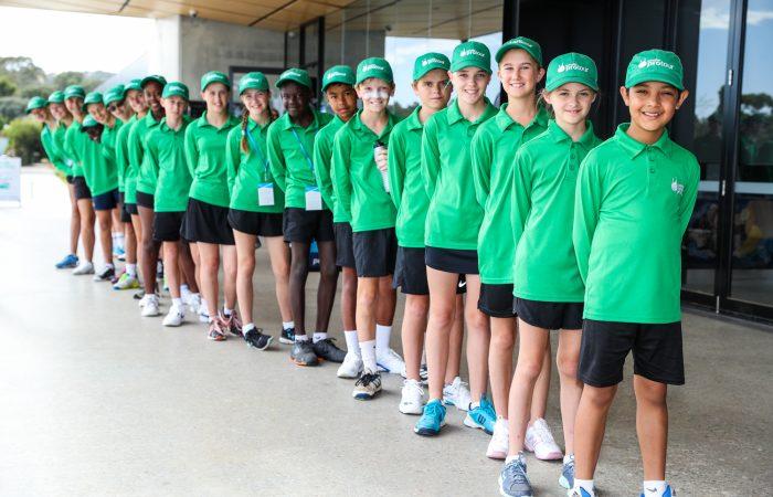 ADELAIDE, AUSTRALIA - January 7 Playford International Tennis Tourament at Playford Tennis Centre on January 7, 2018 in Adelaide, Australia. (Photo by Peter Mundy/Tennis SA)