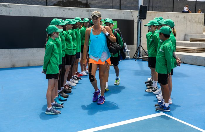 ADELAIDE, AUSTRALIA - January 7 Playford International Tennis Tourament at Playford Tennis Centre on January 7, 2018 in Adelaide, Australia. (Photo by Peter Mundy/Tennis SA)