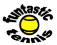 """funtastic tennis logo"""