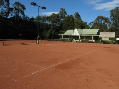 STAG Tennis Courts and clubhouse