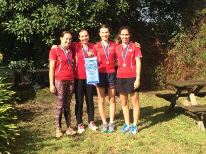 Girls C1 runners up 2016
