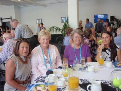 l to r: Debbie Lawson, Cheryl Smith, Helen Fletchett and Lina Pisasale