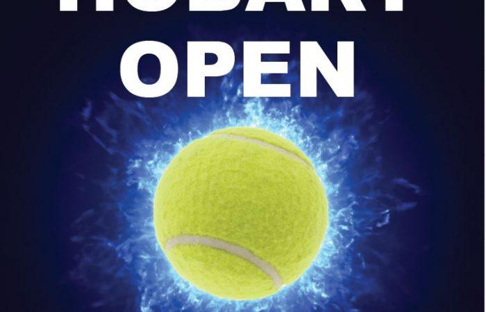 Hobart Open Tournament Poster