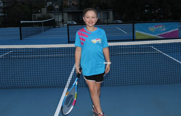 Lily Marshall from Burnie is an ANZ Tennis Hot Shot of the Year nominee