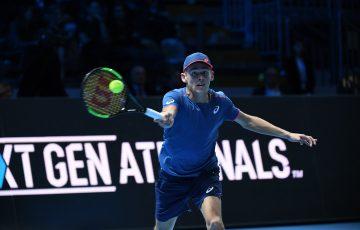 RISING STAR: World No.31 Alex de Minaur is attending the Tasmanian Festival of Tennis