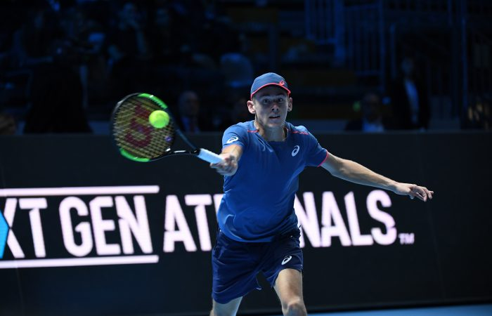 RISING STAR: World No.31 Alex de Minaur is attending the Tasmanian Festival of Tennis