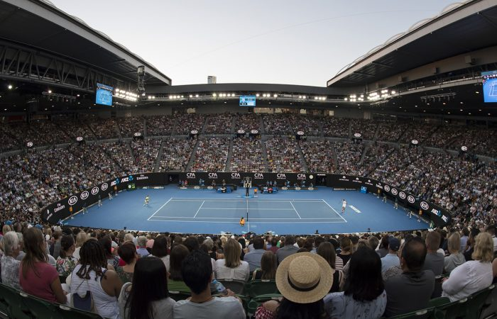 MAJOR PRIZE: Deloraine Tennis Club is the winner of the Australian Open 2019 prize package; Getty Images